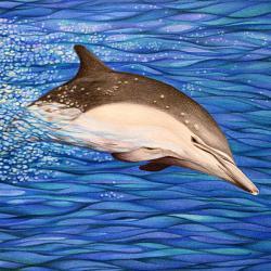Energie-Delphin Kunstwerk Original