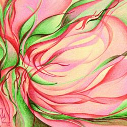 Magnolienblüteninspiration - Original Kunstwerk