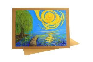 Ein Licht - Trauer Trost Hoffnung - Doppelkarte